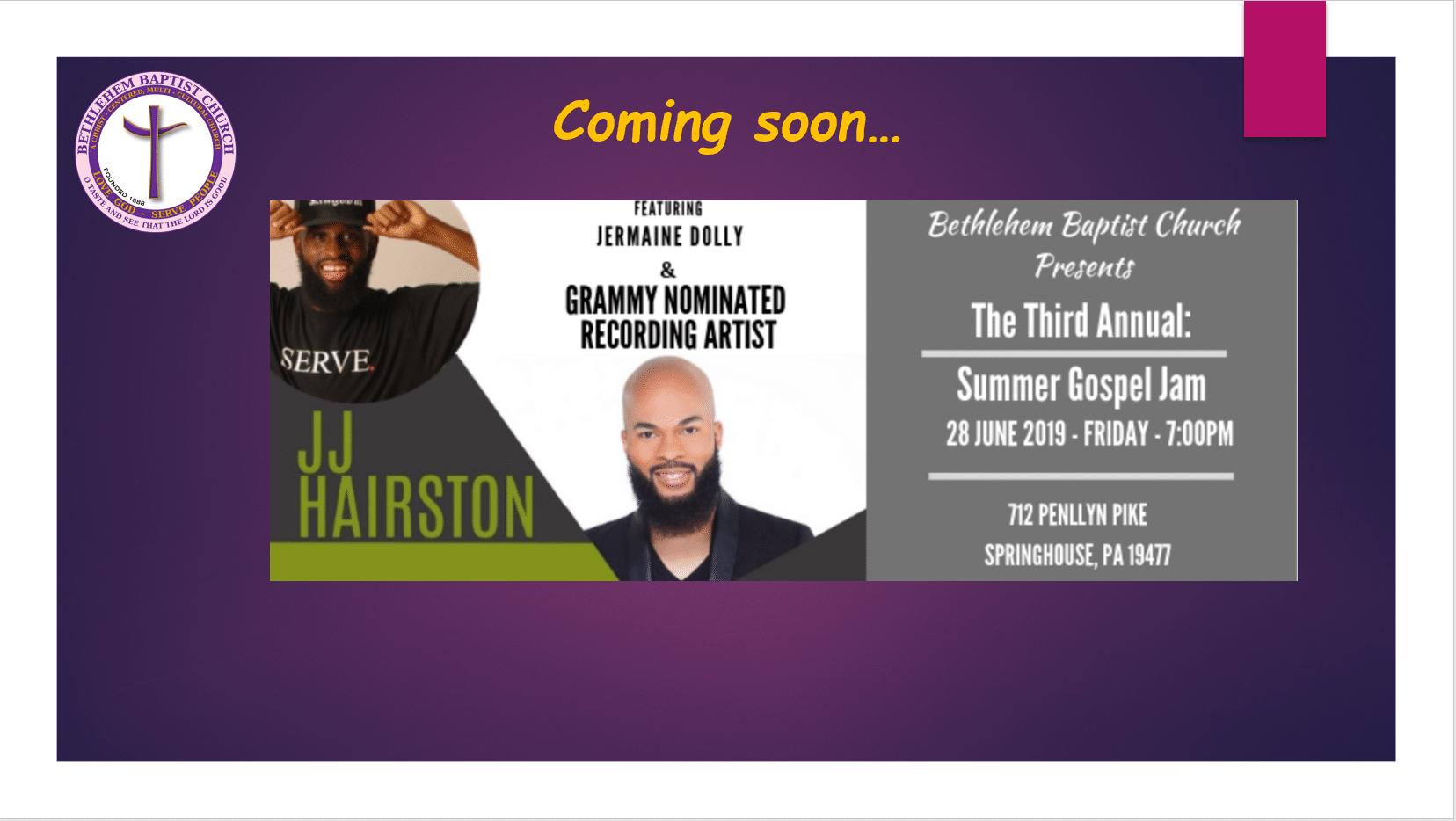 Summer Gospel Jam 2019
