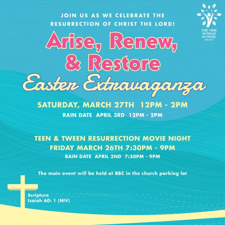 Easter Extravaganza 2021