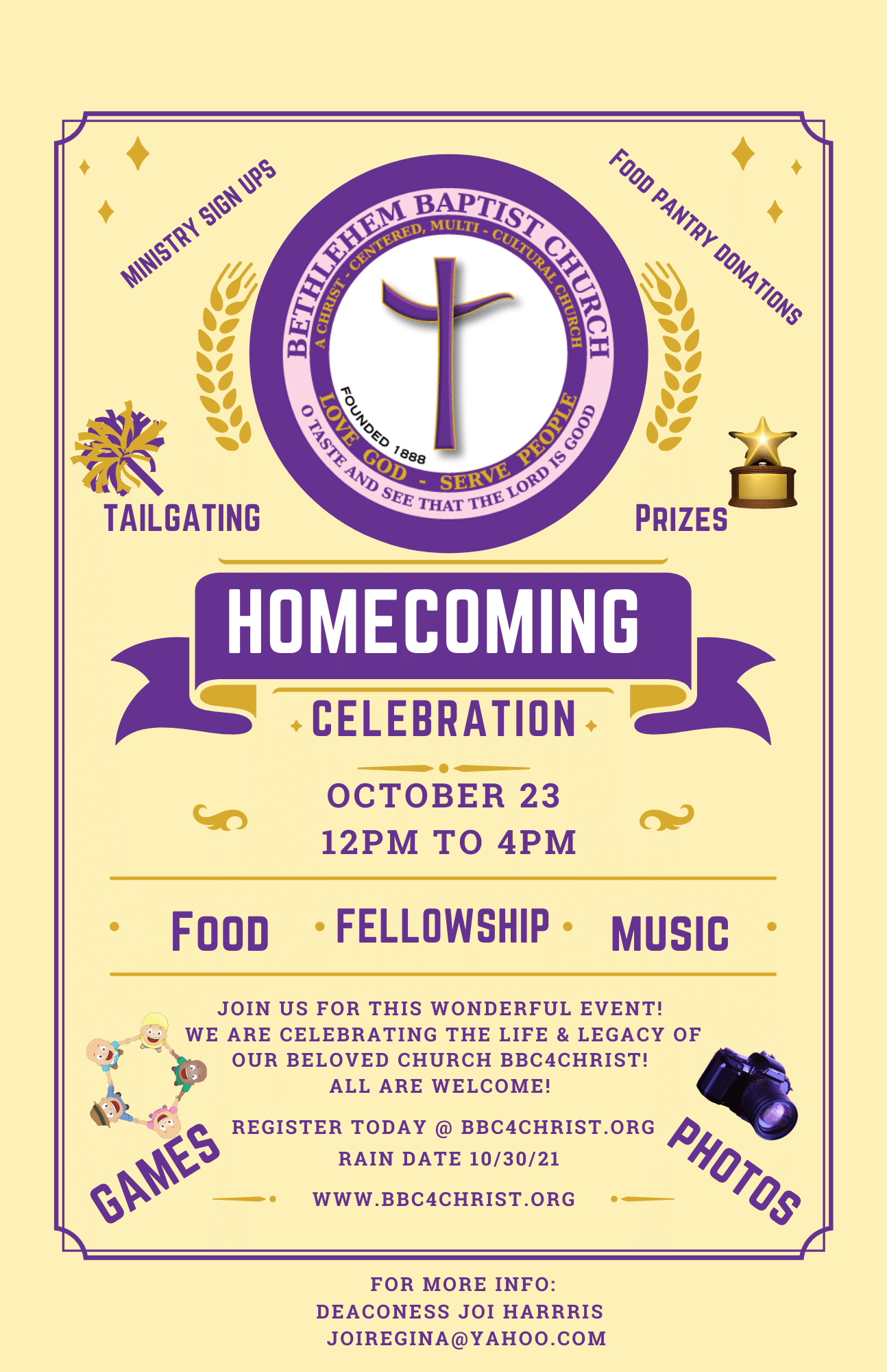 Homecoming 2021 Flyer